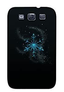 Hot Sparkling Snowflake First Grade Tpu Phone Case For Galaxy S3 Case Cover