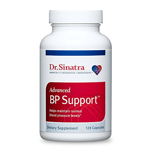 Dr. Sinatra's Advanced BP Support Supplement for Healthy Blood Pressure, 120 Capsules (30-Day Supply)
