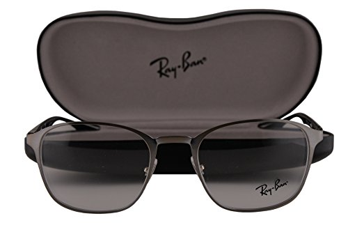Ray Ban RX6357 Eyeglasses 51-20-145 Brushed Gunmetal 2553 - Ray Ban Return