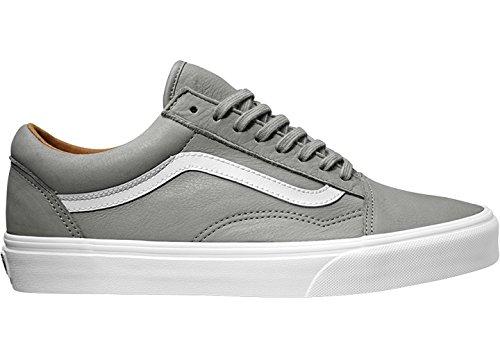 true premium Basses Vans Leather Wild Homme White Dove Sneakers qtnvvA0