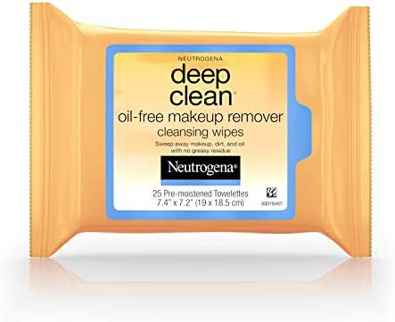 Facial Cleansing Wipes: Neutrogena Deep Clean