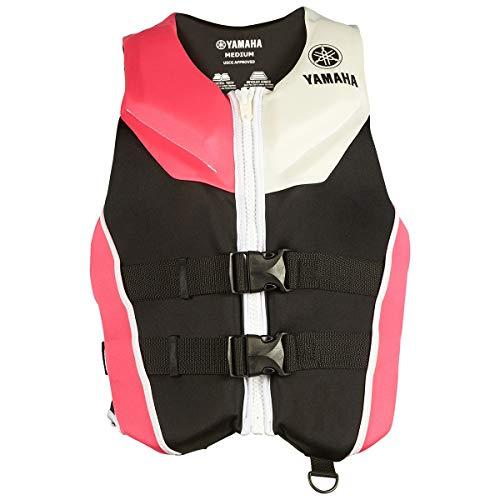 OEM Yamaha Women's Neoprene 2-Buckle PFD Life Jacket Vest (Pink,Large)
