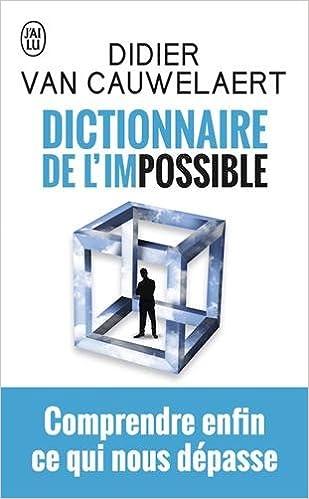 """Résultat de recherche d'images pour """"le dictionnaire de l'impossible"""""""