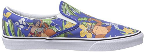 Slip Book Disney Adulto Blue The Vans Classic Unisex Classic Blu Jungle Sneaker On 5TTvwq0