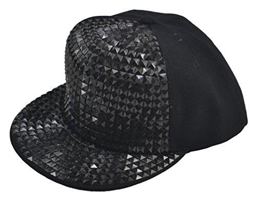 Black Sequin Flat - 3
