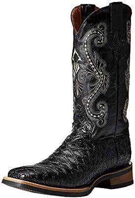 5fb51c94aeb Ferrini Men's Print Anteater Western Boot Black 10: Amazon.com ...
