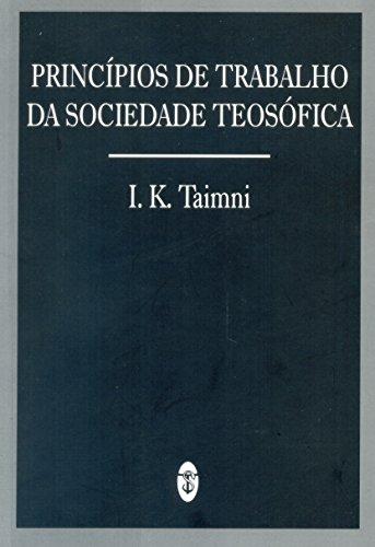 Princípios de Trabalho da Sociedade Teosófica
