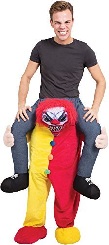 Adults Mens Ladies Step in Ride On Horror Clown Halloween Scary TV Book Film Movie Fancy Dress Costume -