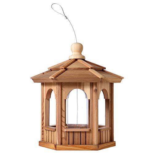 (All Things Cedar BF12 Hexagon Bird Feeder)