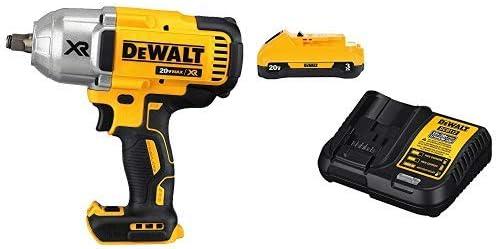 DeWALT DCF899M1 20-Volt MAX XR 4.0Ah Impact Wrench w// Dentent Pin Anvil