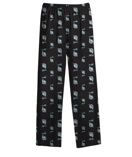 Florida Marlins Logos - MLB Infant/Toddler Boys' Florida Marlins Printed Pant, Black, Medium (3T)