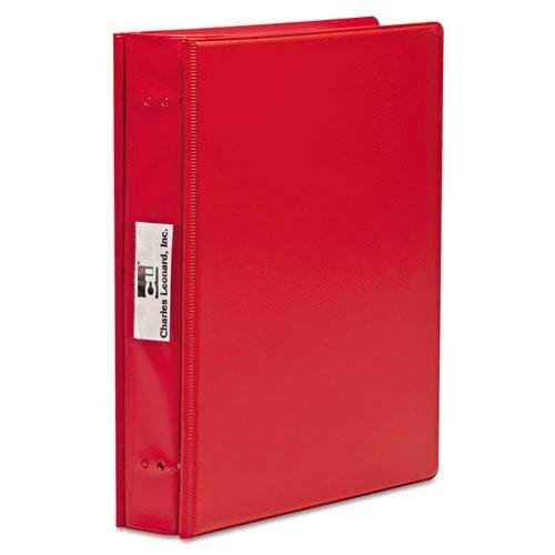 Charles Leonard Varicap6 Expandable 1 To 6 Post Binder, 11 x 8-1/2, Red