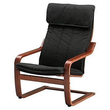 Ikea Poang Chair Armchair with Cushion, Cover and Frame by Ikea (Image #1)