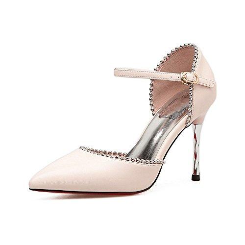 Zapatos Toe LI oras Sandalias Zapatos Bajos Chanclas se Peep Verano Alto Sandalias heelsWomen BAJIAN aq0Yaw