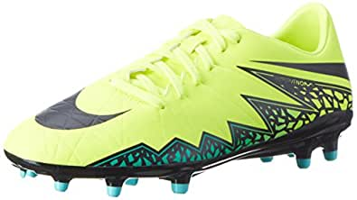 NIKE Men's Hypervenom Phelon II FG Soccer Cleat (SZ. 7) Volt