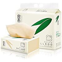 DELLBOO Bamboo Facial Tissues Organic ECO-Friendly TISSUES 110 Count, 3 Pack FDA Approved Natural Tree Free Tear…