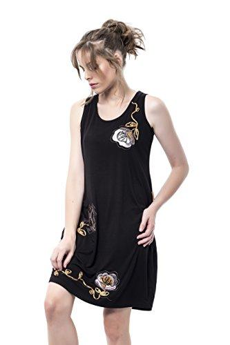 Cyclamen Kleid Mamatayoe Schwarz 001 Black Casual Damen wTqtg