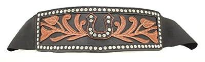 Ariat Women's Wide Stretch Horseshoe Belt
