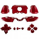 ModFreakz™ Full Button Set Polished Red For Xbox One Model 1697 Controllers