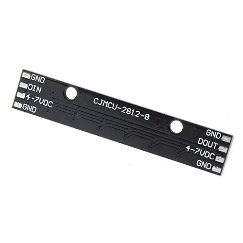 QOJA cjmcu 8 bit ws2812 5050 rgb led driver development board black