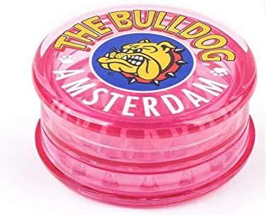 The Bulldog Amsterdam Molinillo de especias de pl/ástico rosa