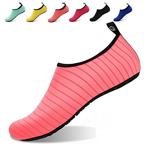 Schuhe Junge Schuhe Strandschuhe Surfschuhe Badeschuhe Damen Wasserschuhe für Schnorcheln Aqua Pink Sommer BOLOG Sportschuhe Barfuß Kinder Schuhe Barefoot Mädchen Schwimmschuhe E0Aqwd