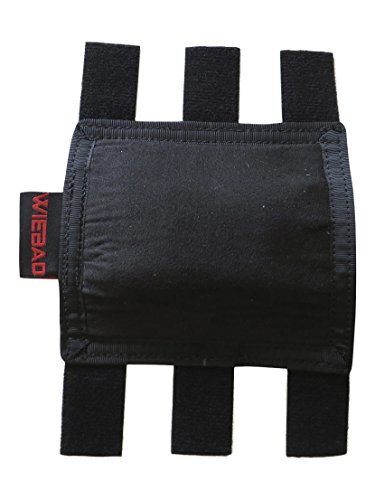Wiebad Mini Stock Pad for Manners T2A or T4A (Black) Breeze Stock