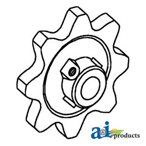 A&I - Sprocket (lower grain conveyor). PART NO: A-71147756