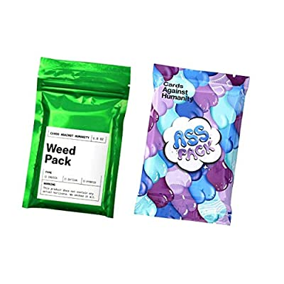Cards Against Humanity Weed & Ass Packs: Toys & Games