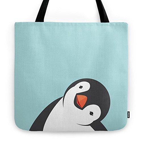 Society6 Penguin Tote Bag 18