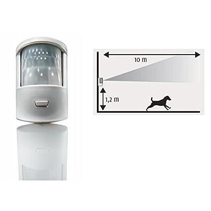Somfy – Detector de movimiento para Habitat con perro alarma Somfy – 1875004
