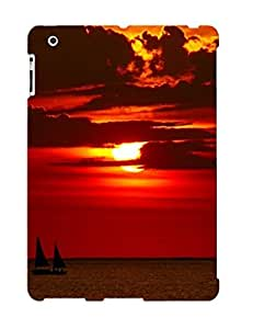 For Ipad 2/3/4 Fashion Design Sailing In The Sunset Case-dinbrJs2399pDVNa / Cover Specially Made For Thanksgiving Day's Gift by supermalls