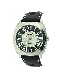 Admiral Gents Analogue Black Ventilated Strap Fashion Watch ADM01/B