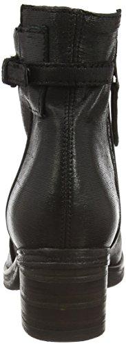 Mjus 560213-010 - botas de caño bajo de piel mujer negro - negro