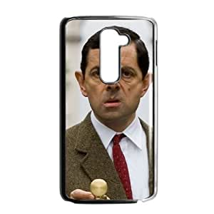 LG G2 Black Mr Bean phone case cell phone cases&Gift Holiday&Christmas Gifts NVFL7A8825457