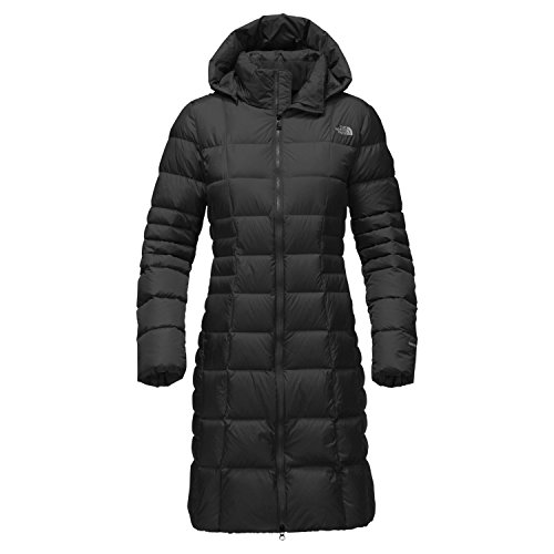 The North Face Women's Metropolis Parka II Tnf Black/Foil Grey Outerwear