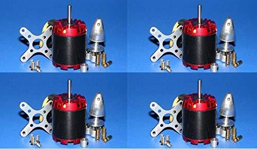 - SAUJNN 4X EMP N3536/2814 1000KV Motor 470W 4mm for ATG 500 550 600 650 Quad/Hexa-Copter