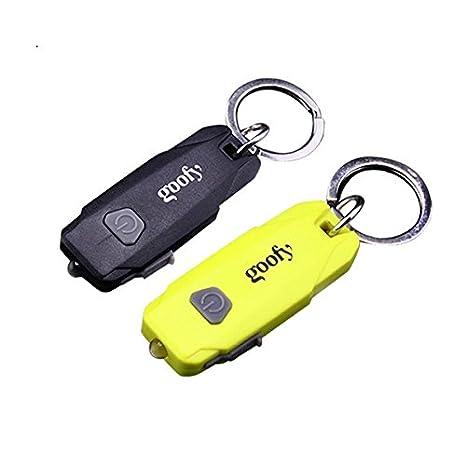 MASUNN Goofy Mini portátil USB Recargable LED Linterna ...