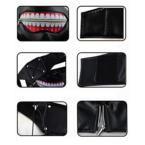 Amazon.com : Loveylife Tokyo Ghoul Cosplay 3D Mask Kaneki Ken ...