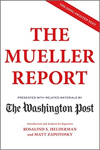 The Mueller Report by The Washington Post PDF Download EPUB, MOBI, AZW, KF8, Kindle
