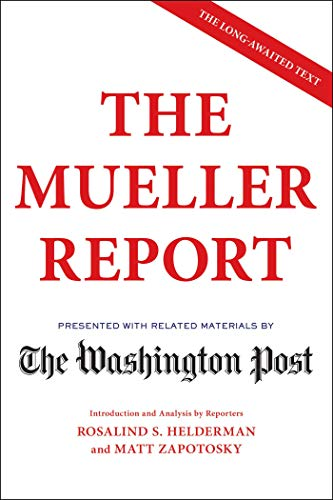 Mueller Report Hits Top Ten In Two Days
