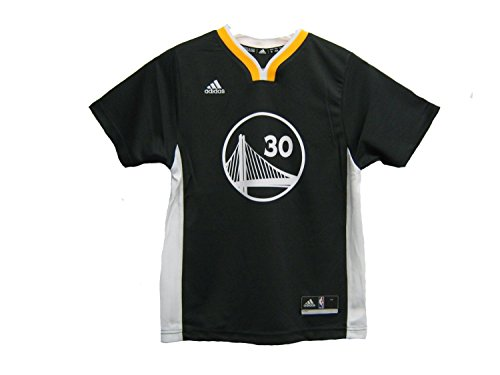 NBA Golden State Warriors Curry S # 30 Boys 8-20 Replica Alternate Jersey, X-Large (18/20), Carbon