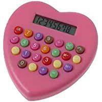 One Heart Shaped Pink Calculator