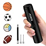 Automatic Electric Ball Pump, Air Pump with Needles for Balls, Basketball, Soccer, Volleyball, Football, Rugby, Inflatables and More, Battery Powered
