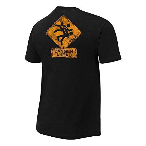 ... WWE Herren T-Shirt Schwarz Schwarz