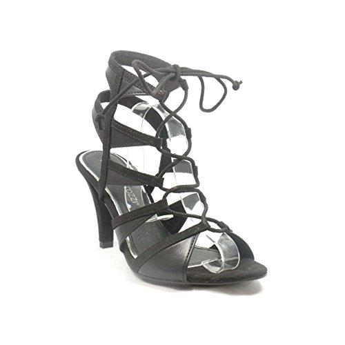Marco Tozzi , Damen Sandalen schwarz schwarz