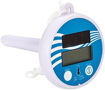 SDFLKAE Zonneenergie Zwembad ThermometerDigitale Pool Thermometer zinken Drijvende Thermometer Gemakkelijk lezen voor Shatter Resistent voor Zwembad