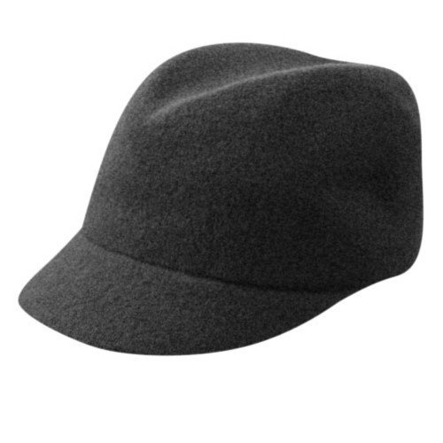 Kangol Women's Wool Colette, Black, MD (7-7 1/8)