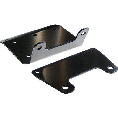 KFI Products Winch Mount - Black (Winch 1.5ci)