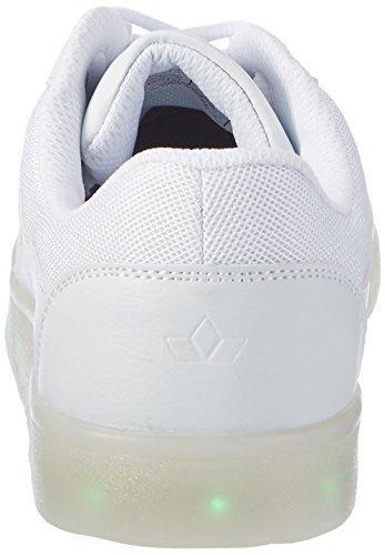 Lico Disco, Zapatillas Unisex Niños Blanco (Weiss)
